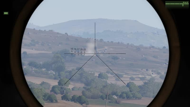 Уничтожение БМП-1(Талибан) оператором-ПТУР(Метис-м) WOG 02.03.2019