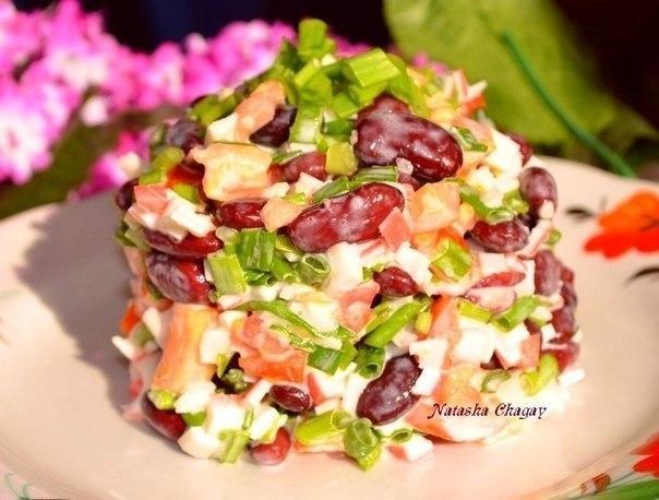 Осенние салаты и рецепты их приготовления