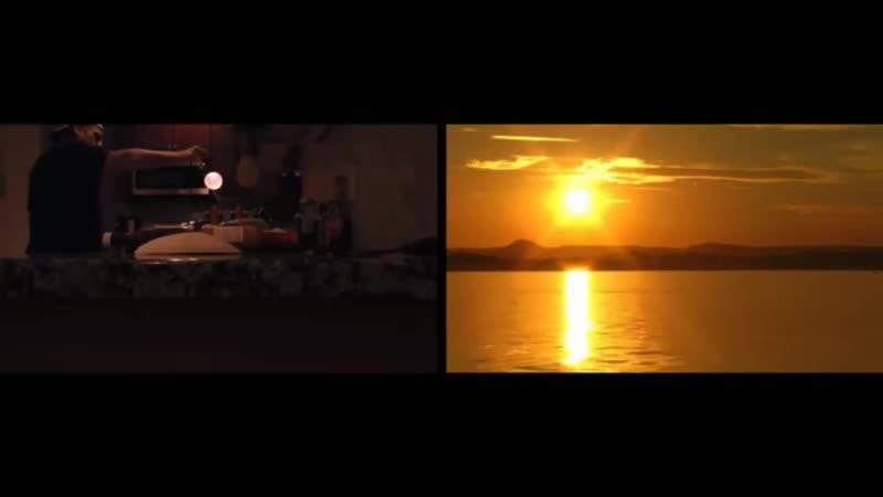 Бутылочно пивная модель захода солнца на ПЗ