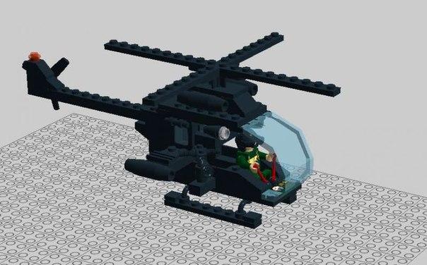 """Вертолет """"Черная Мамба"""""""