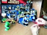 Лего Халк. Разгром лаборатории.