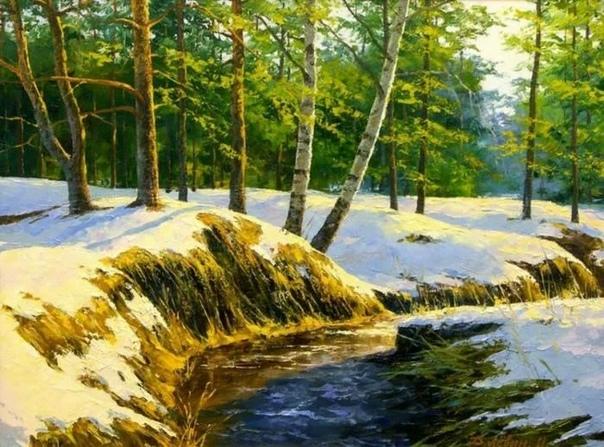 Дмитрий Лёвин талантливый современный художник-пейзажист Он родился в 1956 году в Моршанске. Окончил Пензенское художественное училище. Мастер, в основном, изображает масляными красками на своих