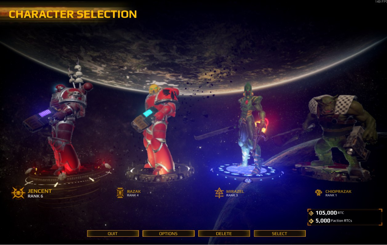 Faction RTC dupe  | Warhammer 40,000: Eternal Crusade - Official Forum