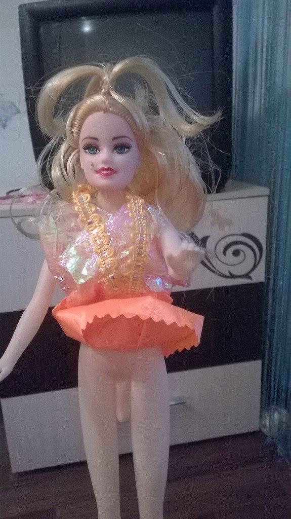 Странная кукла из Тюмени