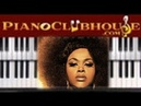 "♫ How to play ""GOLDEN"" by Jill Scott (piano tutorial lesson)"
