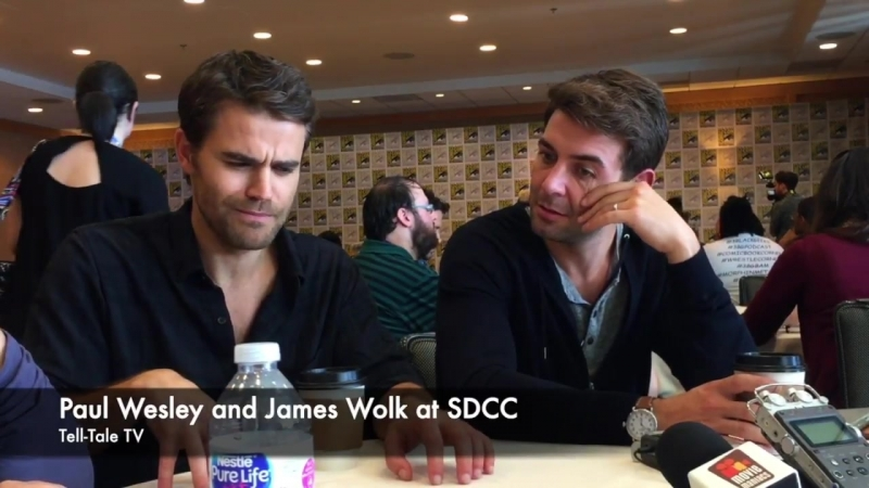 Paul Wesley and James Wolk Interview_ Tell Me a Story