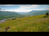 4K Nature Video - 3 Hours of Flowers, Mountains and Birds Sounds - Hummocks Trai