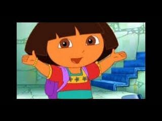 Dora l 39 exploratrice sauve la princesse des neiges animation complet 1 heuresjeux ducatif 1 - Dora princesse des neiges ...