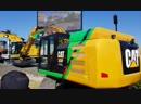 Электроэкскаватор Danfoss Editron - Caterpillar - cat 323f ZLINE 100% electric