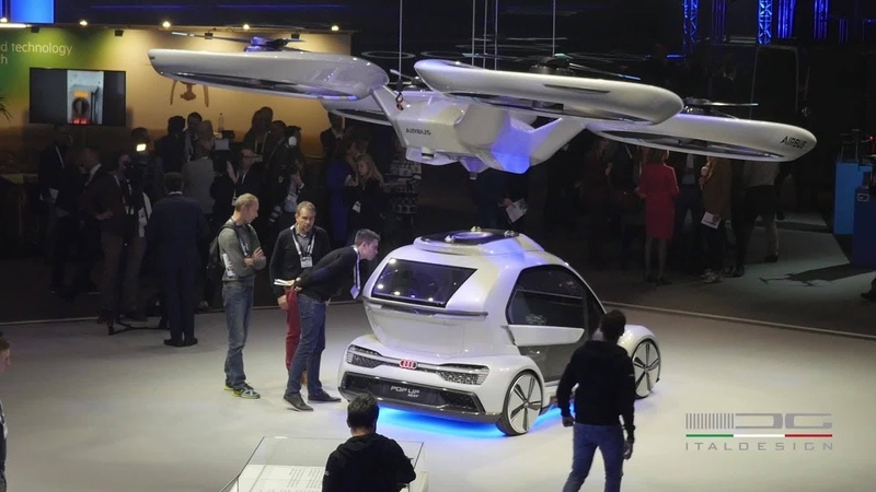 Audi, Airbus and Italdesign test Flying Taxi Concept / Video Creative Professionals Yout Chann