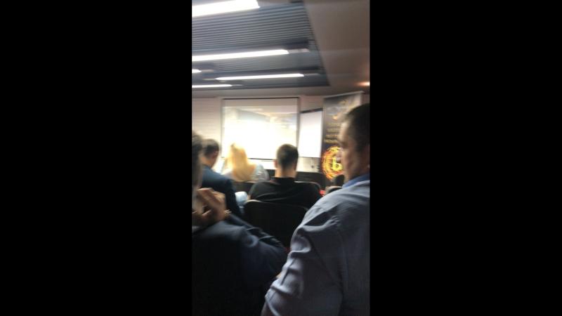 Презентация в Маринс Парк отеле