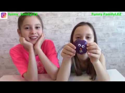 Волшебство Живой слайм Он двигается видео для детей