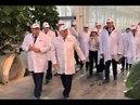 Джамбулат Хатуов посетил новый тепличный комплекс АО Тепличное