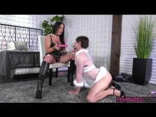 [feminized] marissa minx & sissy tanya - ts mistress sissy training [2018 г., transsexuals, crossdressing, sissy, 1080p]