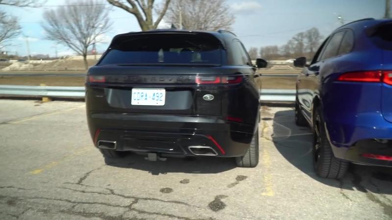 Range Rover Velar vs Jaguar F-Pace S