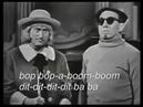 Bajo profundo and oktavista Larry Hooper sing Mr Bass Man (1963)