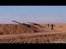 Артиллерия Сирийской Арабской Армии ведет обстрел позиций террористов в Идлибе.