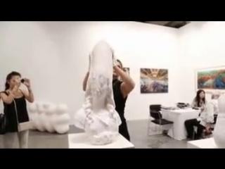 Фантастические бумажные скульптуры