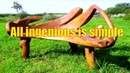 Top Benches made of Wood | All ingenious is simple