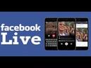 Как сделать прямой эфир в фейсбук и канале ютуб