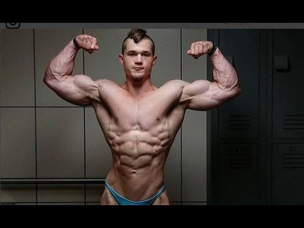 Jared Feather Most Perfact Young Natural Bodybuilder Posing flexing