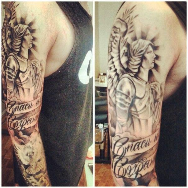 Татуировки надписи - фото тату для девушек и мужчин ...
