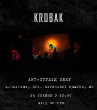 KROBAK вперше в Полтаві ! 24.05.2014