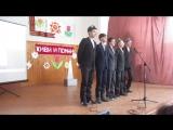 Мои парни(7 класс) исполняют гимн ВДВ- песню