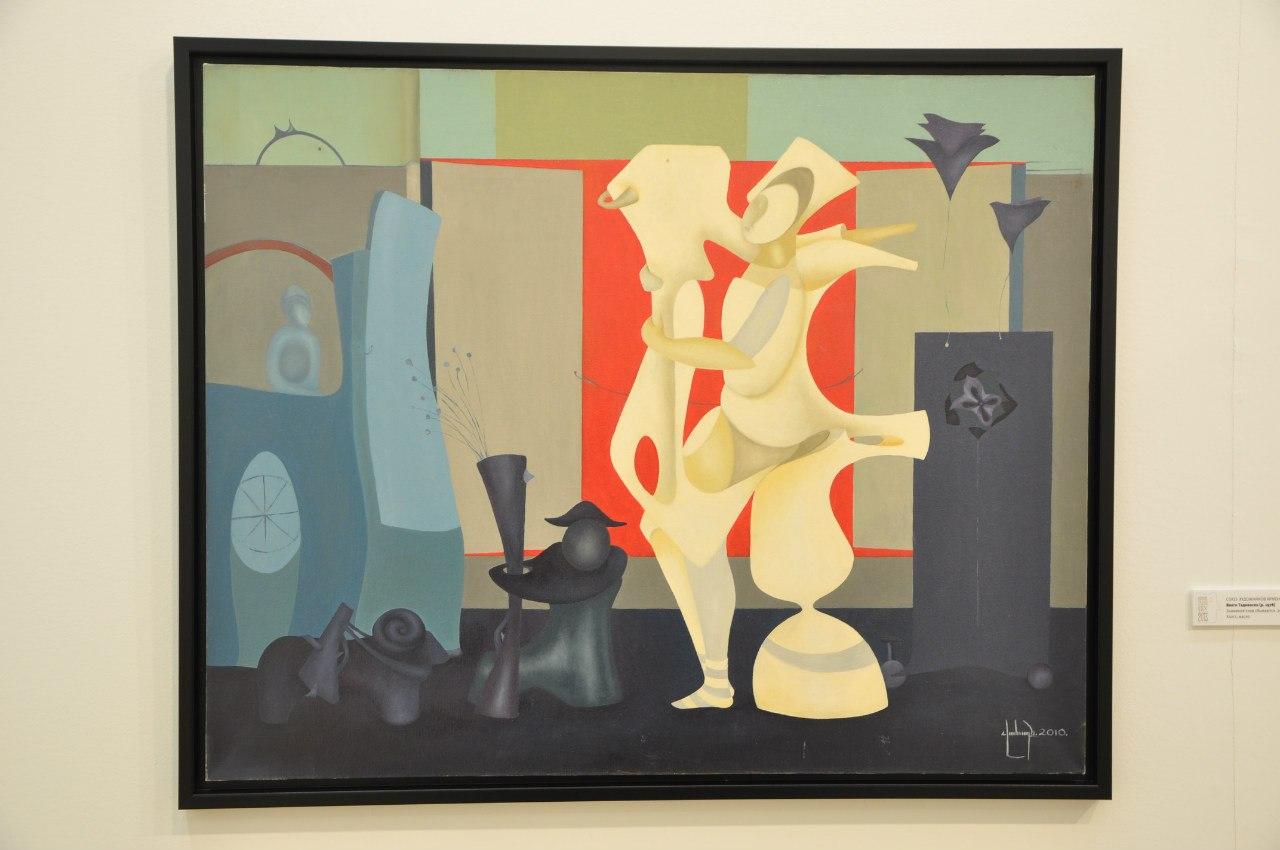 Союз художников Армении  Ваагн Тадевосян (р. 1978)  Знамения снов сбываются. 2012  Холст, масло