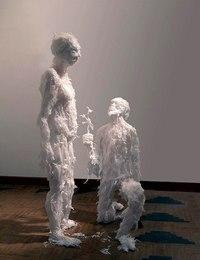 Скульптура из мусора. мусор Запорожье.