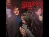 Winona Ryder hugging her children