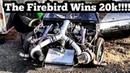 The Firebird Wins $20,000 at Sallisaw Outlaw Dragway