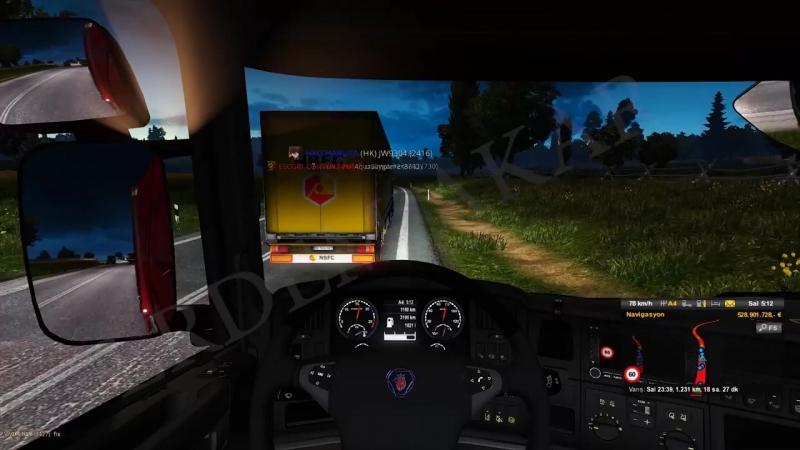 Tehlikeli Hareketler 28 🔴4K 60FPS🔴 Euro Truck Simulator 2