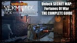 How to unlock Fortunes of War Secret map - Vermintide 2 THE COMPLETE GUIDE