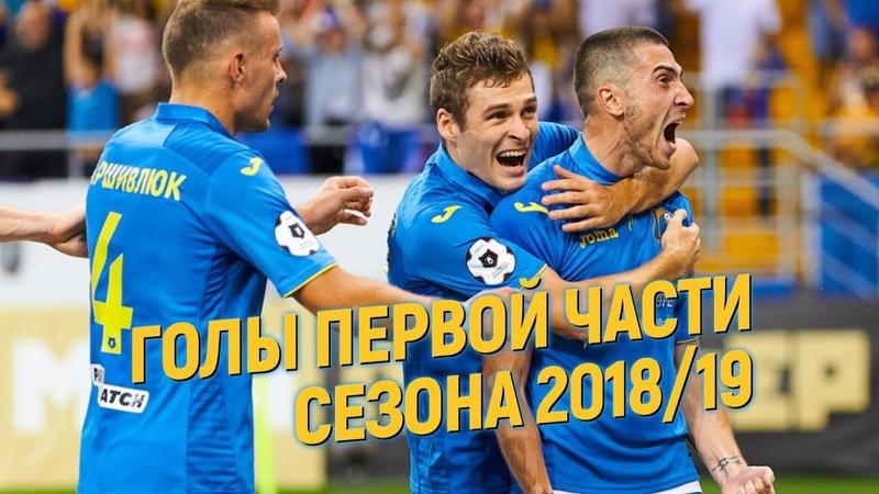 Голы Ростова в первой части сезона 2018 19