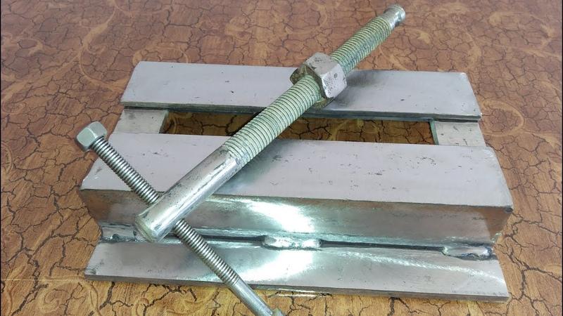 How to Make Metal Mini Drill Vise DIY HomeMade Tools Ideas