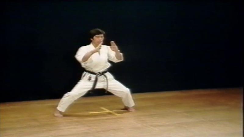 JKA Japan Karate Association Kata 22 26 Meikyo Shotokan Karate legend 10th dan Hirokazu Kanazawa