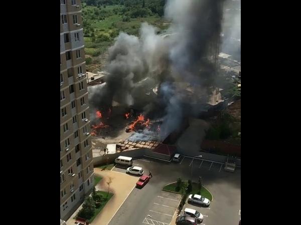 пожар на Старокубанской