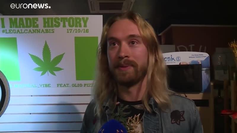 Эйфория по-канадски. Старт продаж марихуаны.