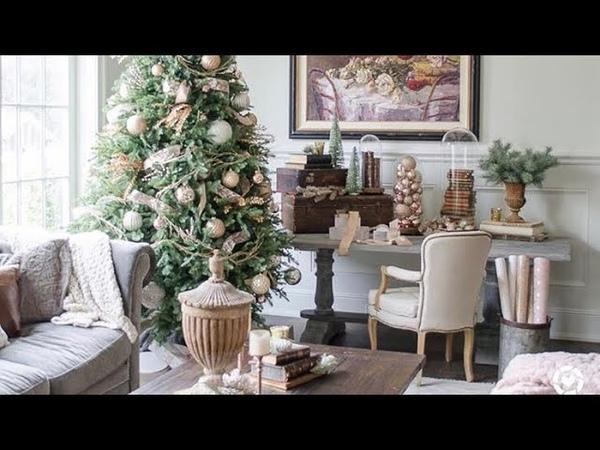 Cute Farmhouse Christmas Decorations (home tour)