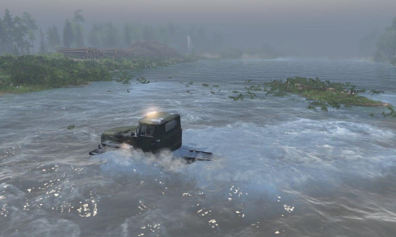 Карта «Лесозаводск» для 03.03.16 для Spintires - Скриншот 1