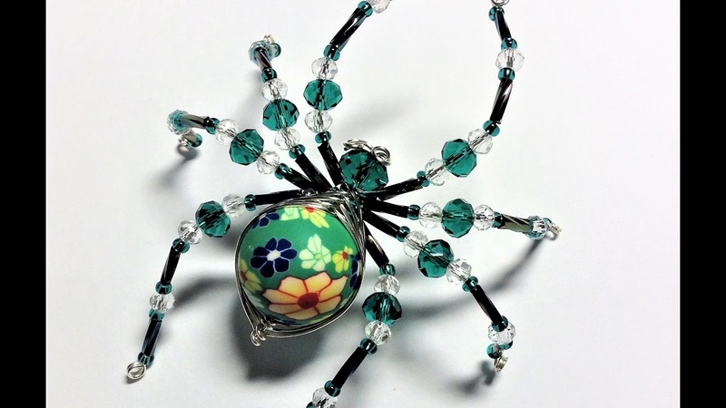 Beautiful Spiders 2 Handcrafted by Pat Langfield