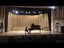 Отчетный концерт школы искусств Кусково . Ф.Шопен Большой Блестящий Вальс