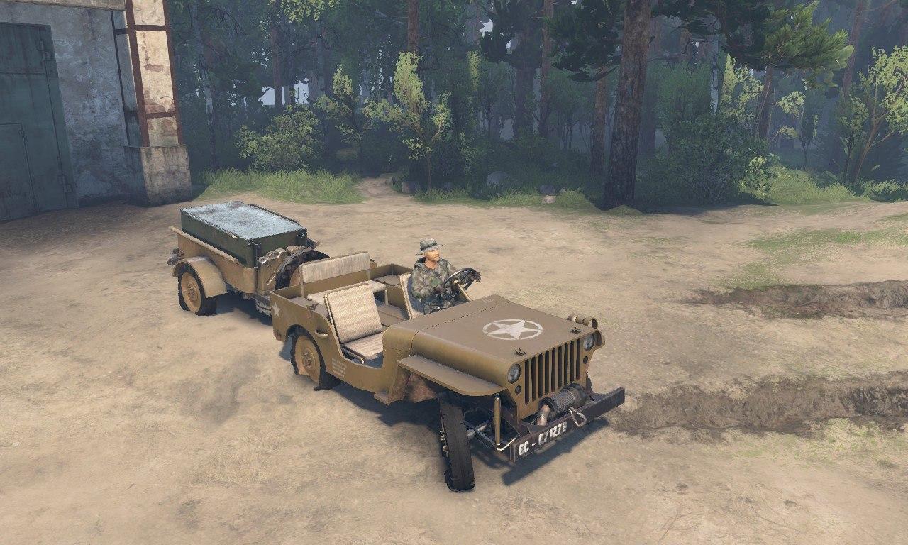 Jeep Willy 1942 для 03.03.16 для Spintires - Скриншот 2