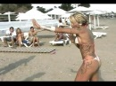 Female Competitive Beach Wrestling