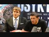 Oleksandr Usyk POST FIGHT PRESS CONFERENCE  vs. Tony Bellew
