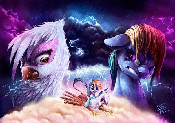 Волшебный Мир Пони Принцессы