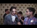Интервью для MTV в рамках презентации фильма «Первый мститель Другая война» на Комик-коне в Сан-Диего 20.07.13