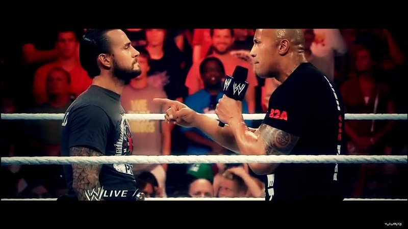 CM Punk vs. The Rock Promo at Royal Rumble 2013 (THE GREAT ONE VS. BEST IN THE WORLD)