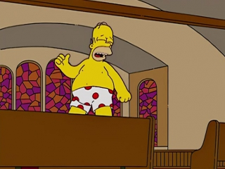 Homer Simpson - I Was Made For Lovin You